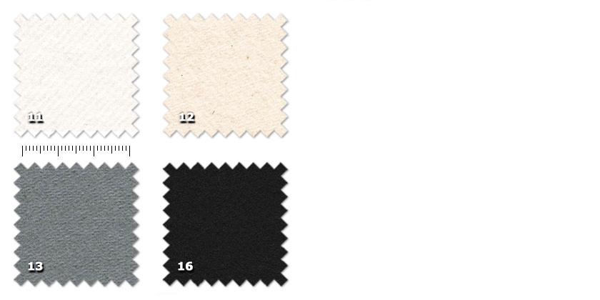 COS - Oscurante Molton11. white12. natural13. grey16. black (also available in 200 cm width)