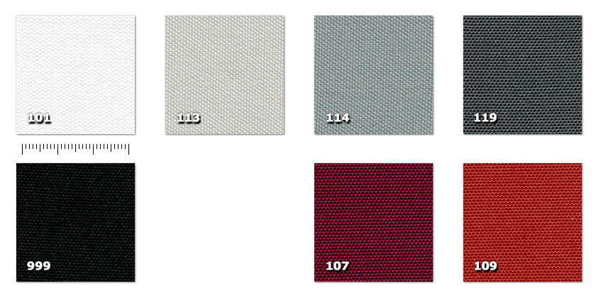 ARI - Reps Ignitex101. white107. bordeaux109. red113. pearl grey114. grey119. dark grey999. black