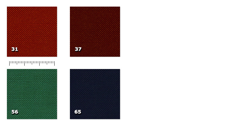 EVT - Light Sceno Poly31. red37. bordeaux56. green65. blue