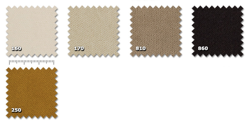 FTA - Tancredi 500 Velvet160. ivory*170. beige810. hazel brown*860. dark brown250. ochre yellow* minimum order ± 60 m