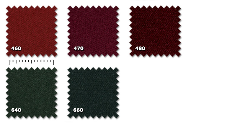 FTA - Tancredi 500 Velvet460. red470. dark red480. bordeaux640. green660. dark green** minimum order ± 60 m