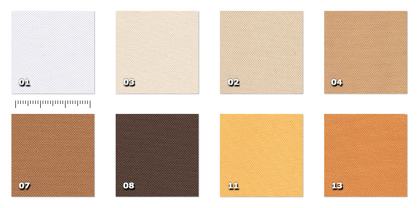 HSV - Trevi01. white02. beige *03. ivory04. suede *07. ochre*08. brown *11. straw yellow* minimum order ± 40 m