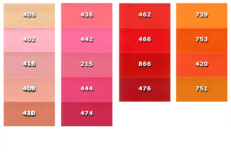 Il vecchio colore corrisponde al 406, mentre quello attuale al 420.