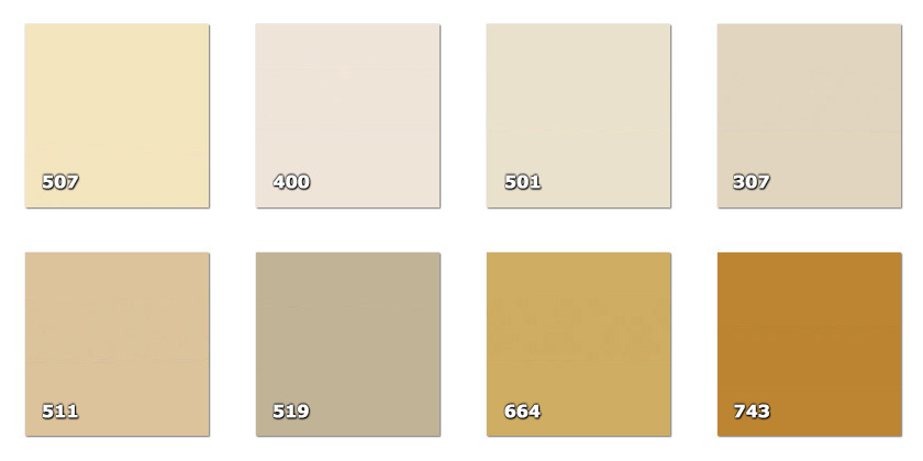 QLA130P - Laccato width 130 cm307. beige400. light beige501. cream 507. dark cream511. light hazel519. light hazel664. light ochre743. light brown * (18 m)* availability limited to the indicated quantity