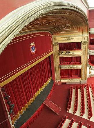 Teatro Gayarre - Telon...
