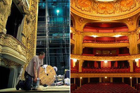 Théâtre de l\'Opéra de Lille - Rideaux pour théâtres historiques   PERONI