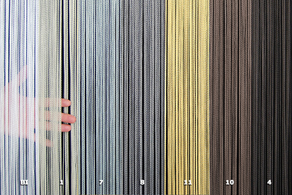 Ntr Tripolina String Curtain Materials For String